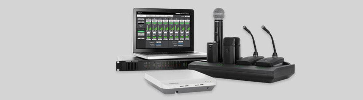 Shure - Microflex Wireless kabellose Mikrofonsysteme
